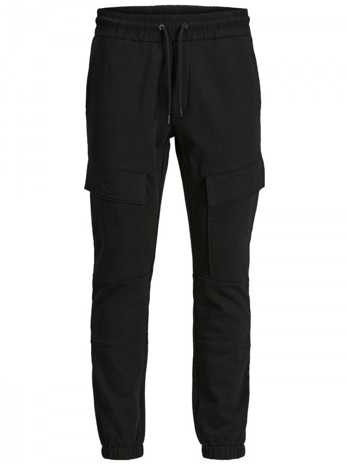 JJIWILL JJDRY CARGO SWEAT PANT VG Black
