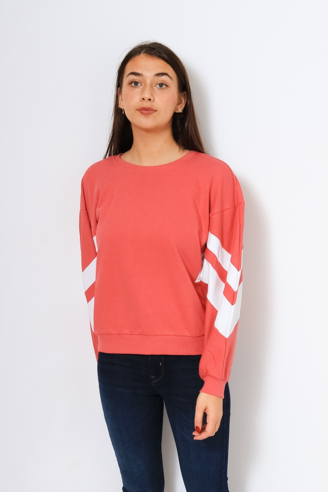ONLJOSSA L/S SPORTY SWEAT Baroque Rose