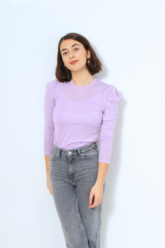 ONLKARLA L/S TOP JRS Orchid Bloom