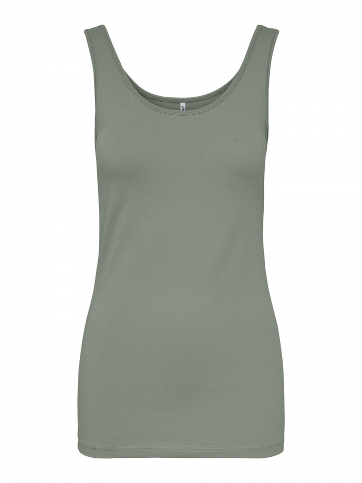 ONLLIVE LOVE LIFE S/L TANK TOP NOOS Shadow