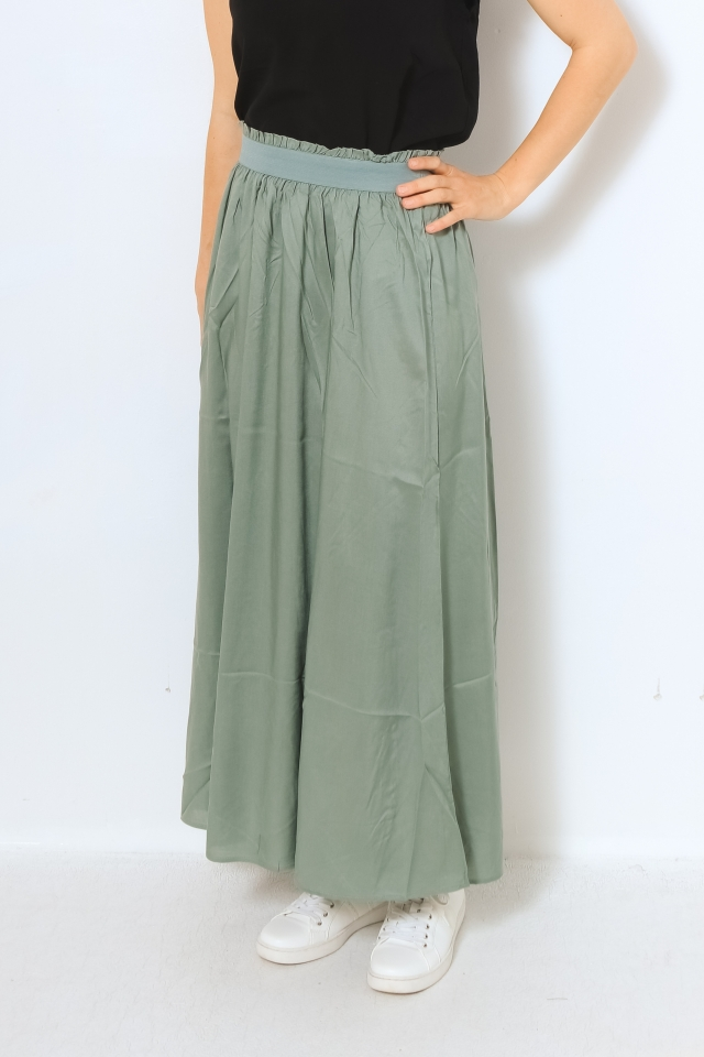 ONLVENEDIG LIFE LONG SKIRT WVN NOOS Chinois Green