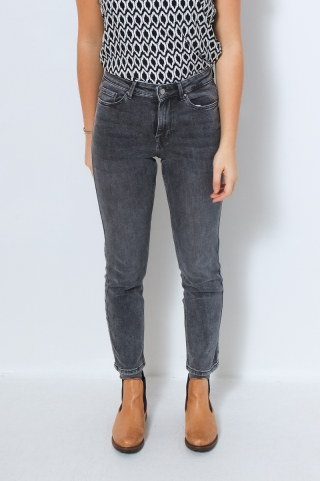 PCLILI SLIM MW CR MG731-VI/NOOS BC Medium Grey Denim