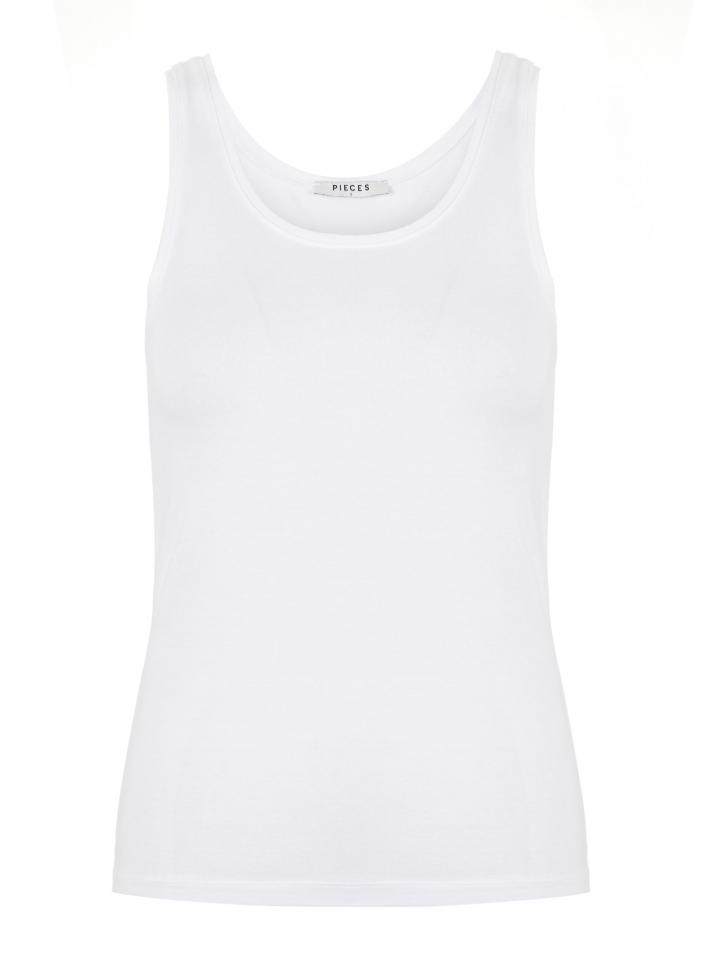 PCSIRENE TANK TOP NOOS Bright White