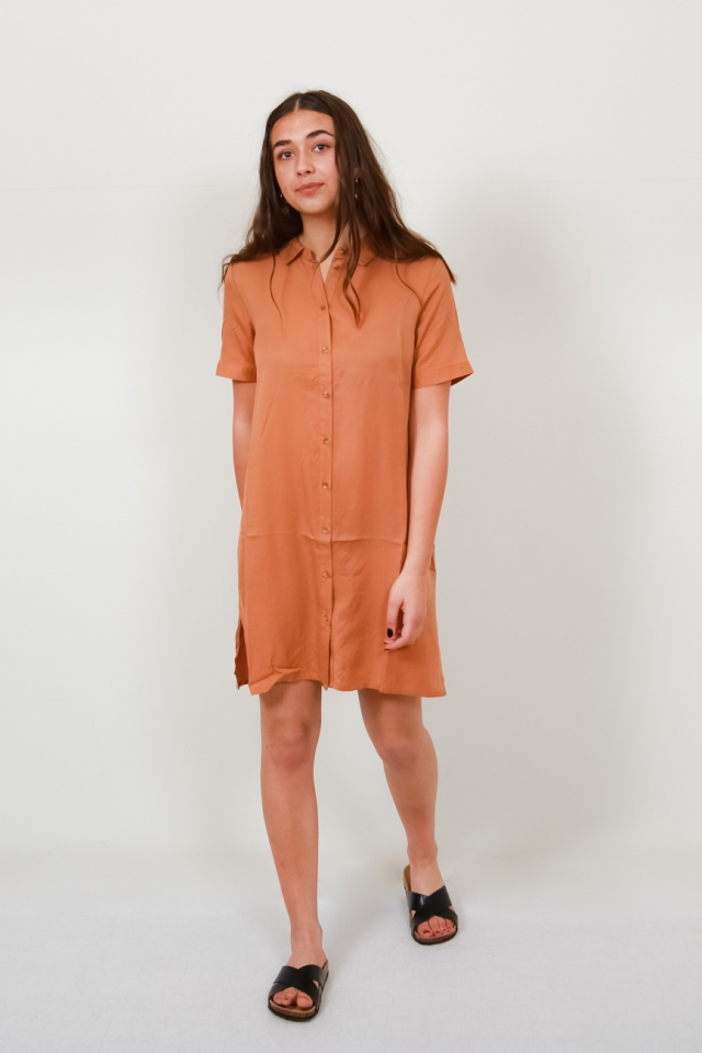 VMCHLOE SS TUNIC DRESS GA NOOS Meerkat