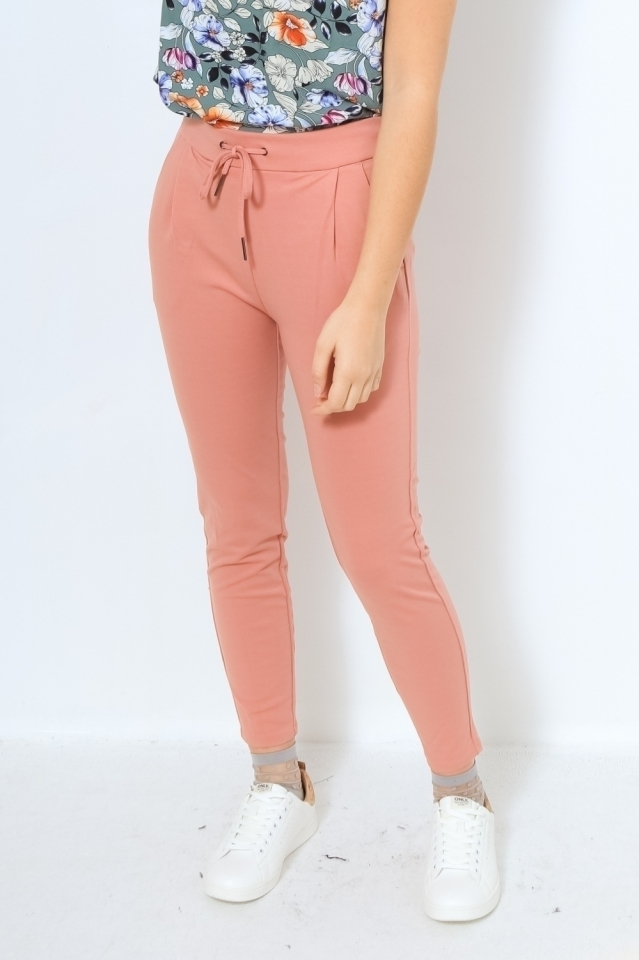 VMEVA MR LOOSE STRING PANT GA COLOR Old Rose