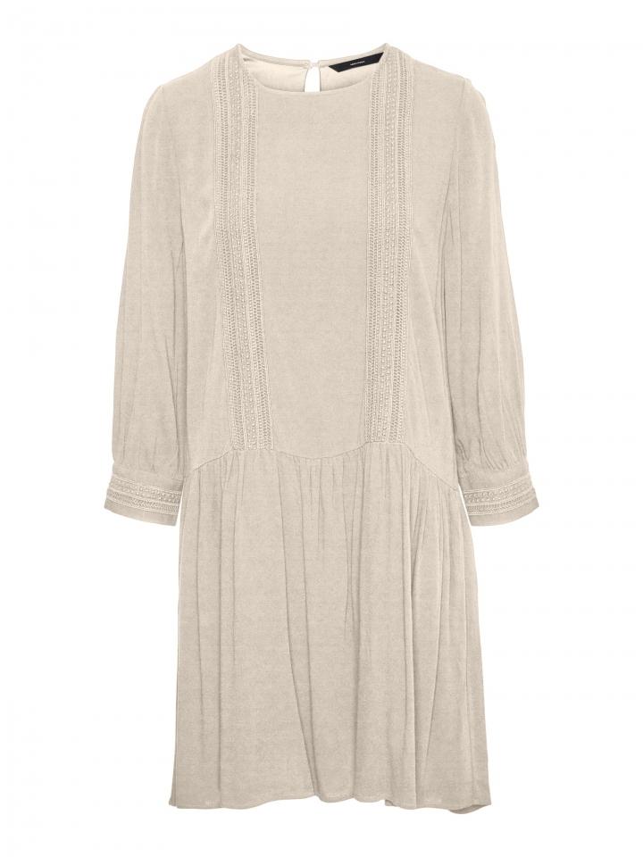 VMGIDGET 3/4 SHORT DRESS WVN Birch
