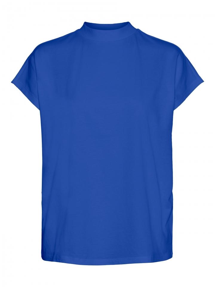 VMGLENN SS TURTLE NECK GA VO Dazzling Blue