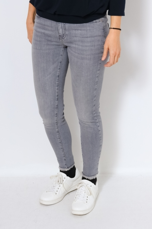 VMHANNA MR SK RAW EDG JEANS BA2158 Light Grey Denim