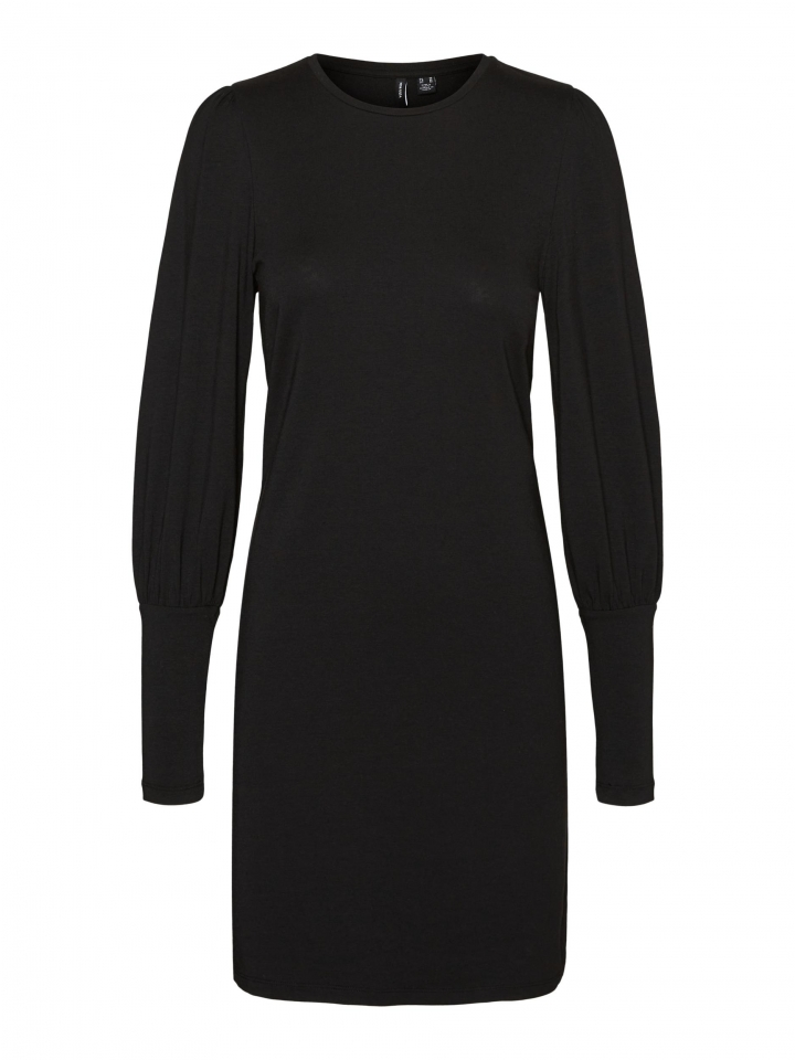 VMPANDA L/S MUTTON SHORT DRESS EXP Black