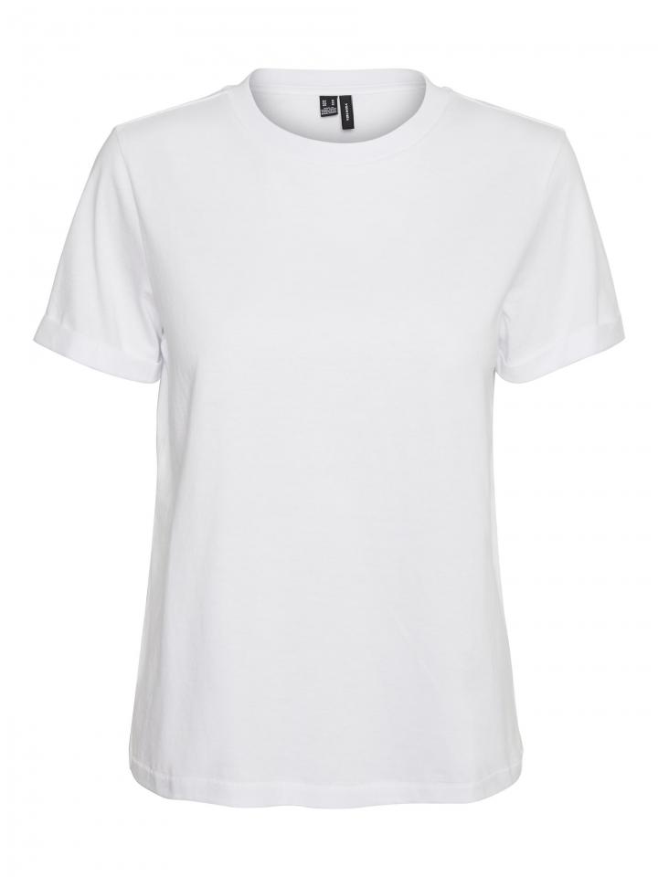 VMPAULA S/S T-SHIRT GA NOOS Bright White