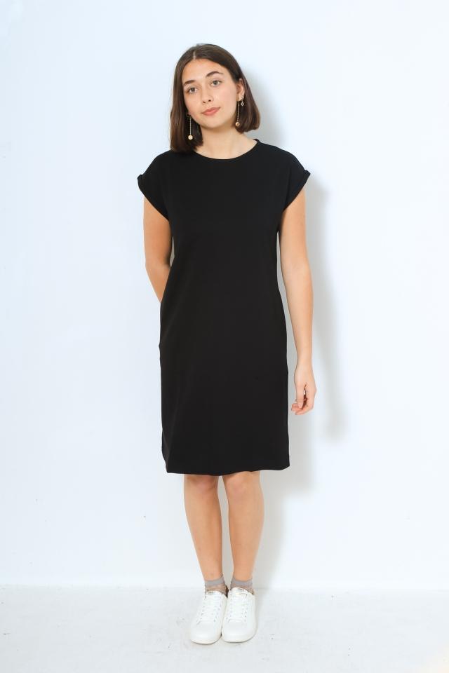 HAWAA Kleider Jersey Solid black