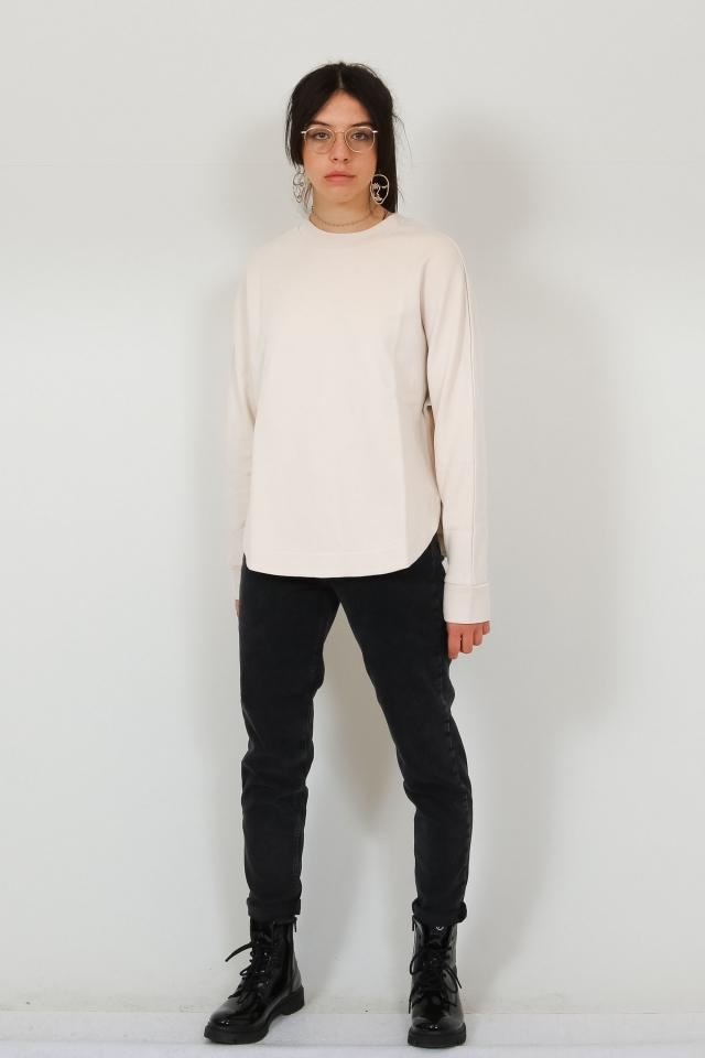 HELAA LOGO Sweat Shirt Solid kitt