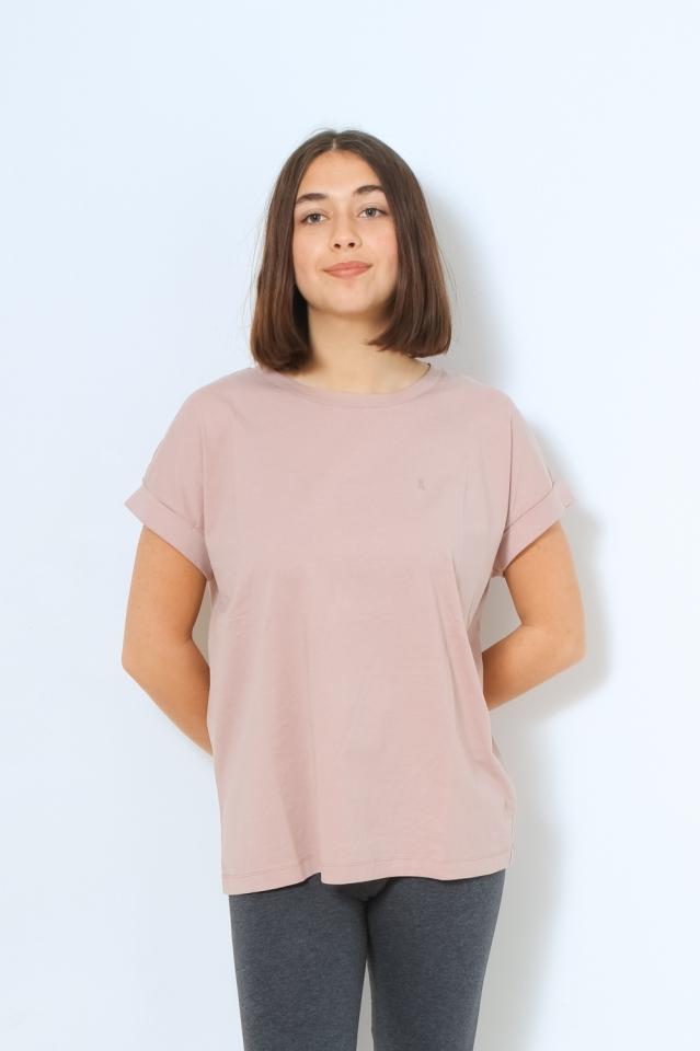 IDAA LOGO Shirts T-Shirt Solid kinoko