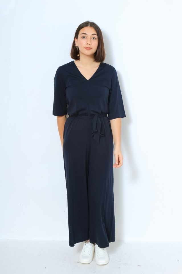 NAILAA Hose Jumpsuit Solid night sky