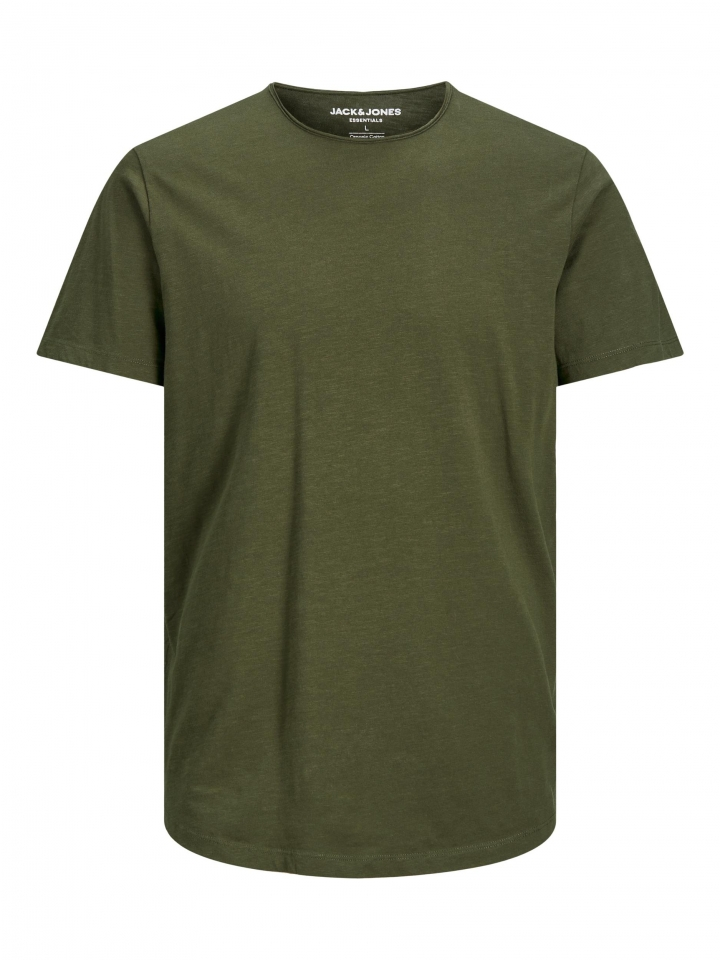 JJEBASHER TEE O-NECK SS Forest Night/SLIM FIT