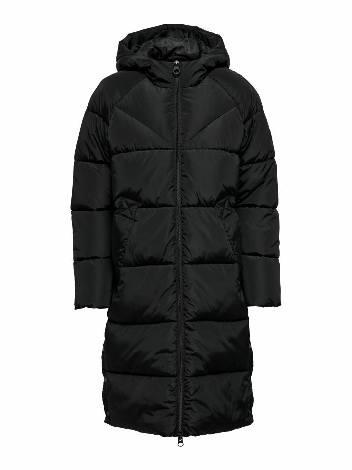 ONLAMANDA LONG PUFFER COAT CC OTW Black