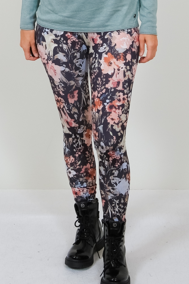 ONLARIA LONG LEGGINGS MU JRS Black/LAKE