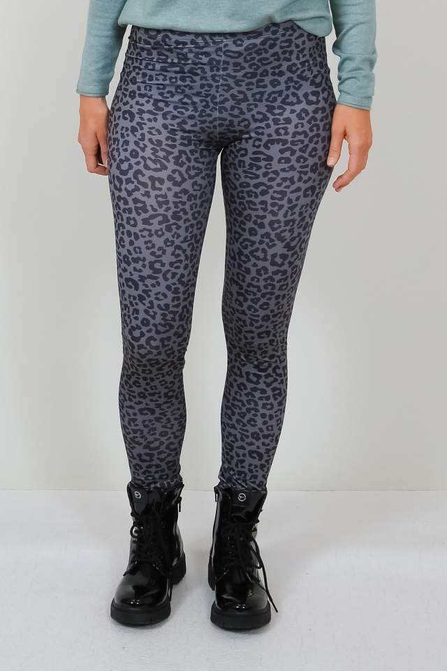 ONLARIA LONG LEGGINGS MU JRS Dark Grey/LEO