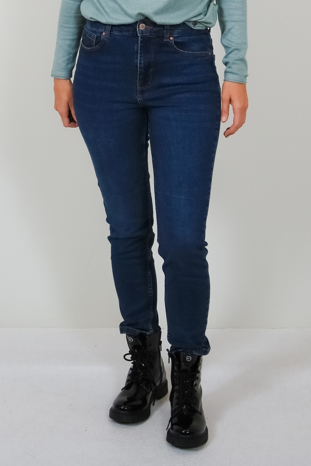 ONLBOOSTER HW ANKLE DNM JEANS PIM Medium Blue Denim