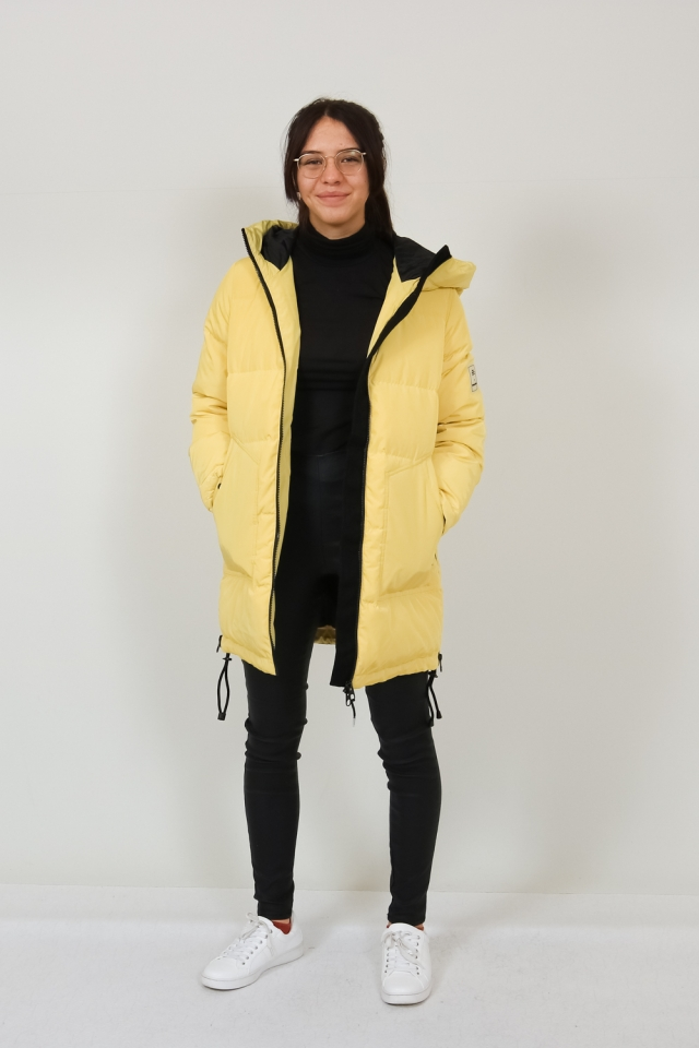 VMOSLO AW20 3/4 DOWN JACKET COL Celery
