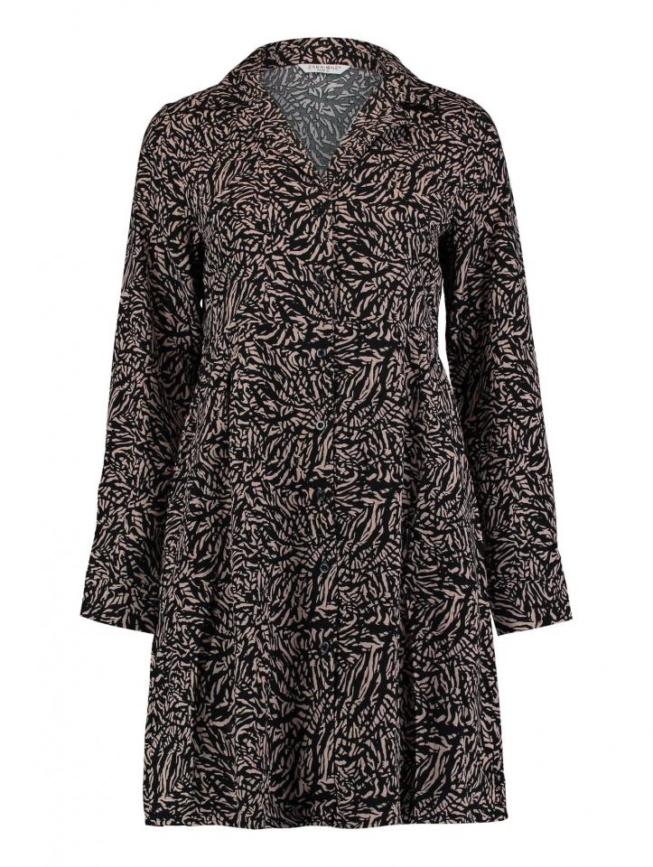 Modell: Dress Zella taupe/black