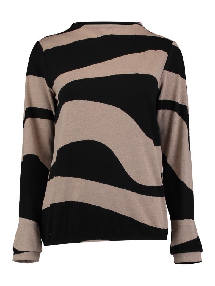 Modell: Pullover Oceana black/beige
