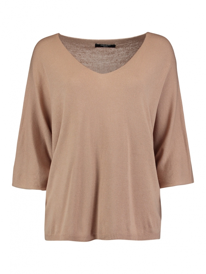 Modell: Pullover Nina beige