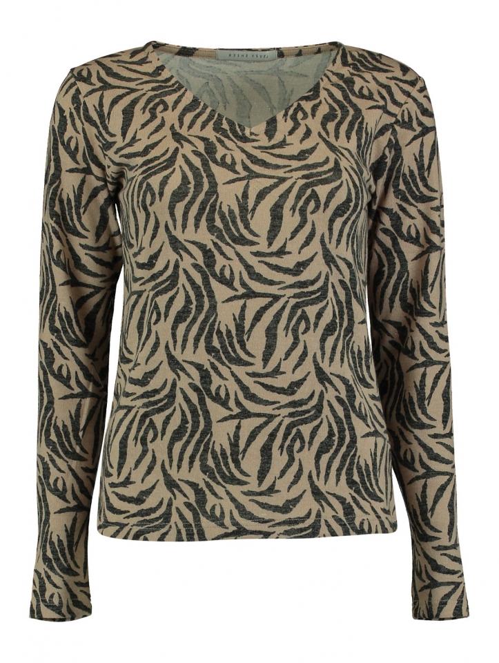 Modell: Shirt Bess black/taupe